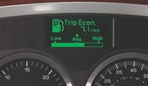 MORE INFO: The Kenworth T2000 will now feature a Driver Information Center to improve fuel efficiency.