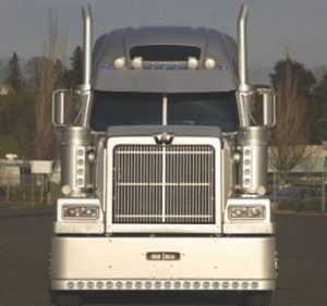 TOTALLY RAD: Western Star trucks now come with a larger radiator for improved cooling.
