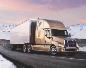 EXPANDING FAMILY: The Freightliner Cascadia family has grown to include a 72-inch XT model.