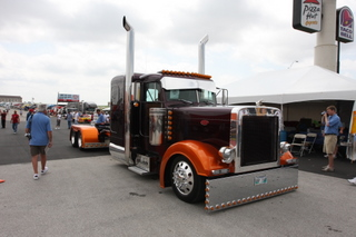 Ryan Danylchurch of Winnipeg, Man., captured the best of show top prize, winning $10,000 at the 26th annual Shell Rotella SuperRigs competition.