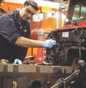 SAVING FUEL FROM THE SHOP: While the driver is responsible for maximizing fuel economy from behind the wheel, the maintenance staff also has a role to play. Good maintenance practices can have a significant impact on the amount of diesel burned by a fleet of trucks.