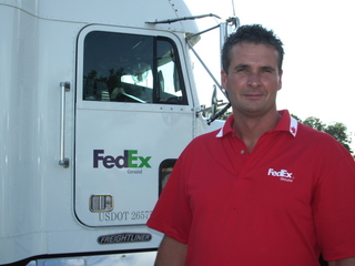 2008 Owner/Operator of the Year, Marty Gardner.