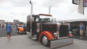 PAYOFF: Ryan Danylchuk won $10,000 and a spot in the SuperRigs calendar when his truck won Shell's prestigious competition.