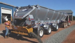 VERSATILE: Live bottom trailers are more appealing today because of their versatility. A wide range of attachments have allowed them to be used in more applications.