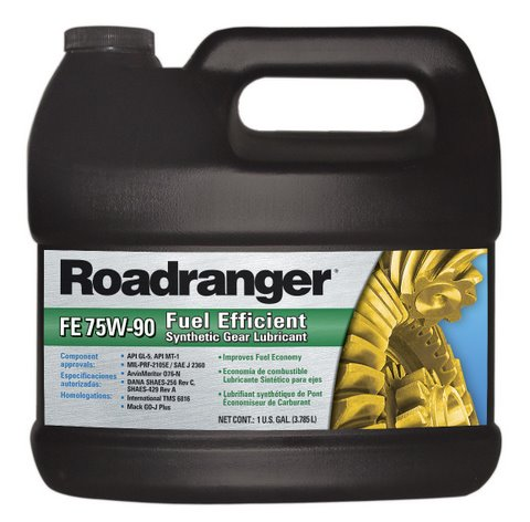 Roadranger says its synthetic gear lube can improve fuel mileage by 1%.