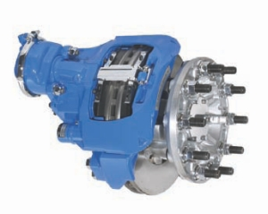 WORTH A LOOK?: Mack officials claim the latest disc brakes offer advantages over drums.