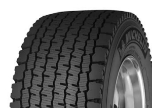 MORE TRACTION: The open shoulder design improves traction in wet and snowy conditions, Michelin says.