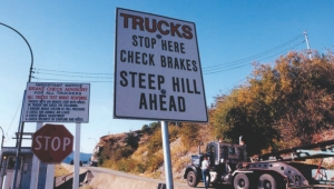 SAFETY COUNCIL: B. C. poses many hazards to truckers, including mountainous terrain. A new safety council aims to drive down trucker deaths.