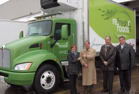 This Kenworth T270 hybrid will make food deliveries to those in need in the Halton region.