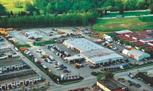 BIRD'S EYE VIEW: First Truck Centre is expanding into the Vancouver area, with the 60,000 sq.-ft. facility seen here.