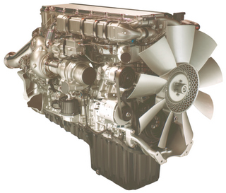 Detroit Diesel's use of turbo compounding on its DD15 engine was recognized by truck writers as the top technical achievement of 08.