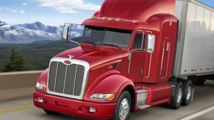 The Peterbilt Model 386 is now available with an aerodynamic package the company says makes it the most aerodynamic truck in the industry.