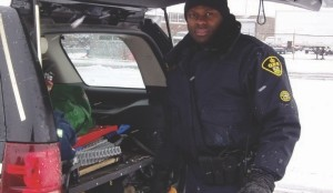 ONE OF THE GOOD GUYS: Truck cops can get a bad rap, but many of them such as Adrian Perry have truckers' best interests at heart.