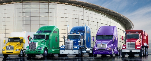 All Kenworth models now come standard with a clear coat finish for longer-lasting paint.