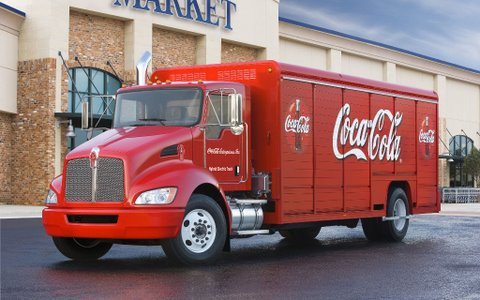 Coca Cola Is Adding To Its Extensive Fleet Of Hybrid Delivery Trucks With A