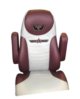 This leather seat is one of the interior enhancements offered in Western Star's Limited Edition '67.