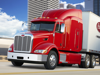 The Model 384 is the latest Class 8 Peterbilt to be approved by the EPA SmartWay program.
