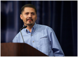 Jorge Orozco-Sanchez was named Goodyear's 26th North American Highway Hero.