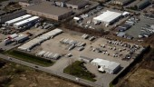 An aerial view of Challenger's newly expanded facility in Aldergrove, B.C.