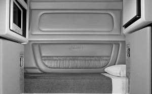 KEEP IT CLEAN: A clean bunk is a safe bunk. A bunk with floor-to-ceiling cabinets, padded surfaces and secured appliances is even safer.