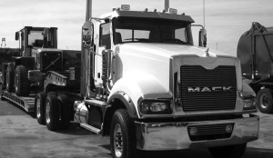 HEAVY HAULER: The Mack Titan is built for severe service and will be right at home at construction sites.