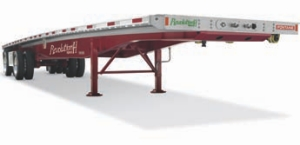 LIGHTER, STRONGER: Fontaine Trailers says its new flatbed design offers more strength and less weight.