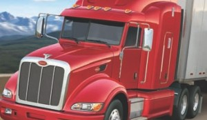 AERO KING?: Peterbilt says its Model 386 is tops in fuel efficiency when equipped with a new aero package it claims will improve fuel mileage by up to 12%.