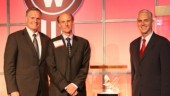 From left: Bill Kozek, Kenworth general manager and PACCAR vice-president; GreatWest Kenworth president Jeff Storwick; and Gary Moore, Kenworth assistant general manager for marketing and sales.