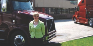 ONE OF THE BEST: Kelly Sheehan was nominated as a finalist for the prestigious ATD Truck Dealer of the Year Award.