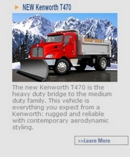 Kenworth's Web site now includes all the info you need about the company's latest medium-duty model, the T470.
