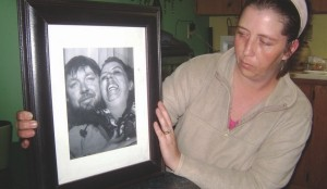 NO CLOSURE: Nicole, wife of murdered truck driver Donald Woods, struggles to come to terms with his senseless killing.