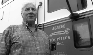 PEOPLE-ORIENTED: Ben Vandespyker of Active Transport was named the Canadian Fleet Maintenance Manager of the Year.