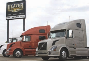 THIRD TIME'S A CHARM: Beaver Truck Centre has been named Volvo's Canadian Dealer of the Year for the third time.