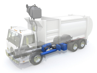 Eaton will soon be offering retrofits to hybridize refuse trucks.