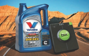 PERFECT PAIR?: Valvoline and inthinc say combining their products is guaranteed to save fleets money.