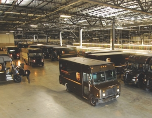 BIGGER BROWN: UPS Canada has more than doubled its package processing capacity with the expansion of its Toronto distribution centre.