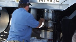 Mobile DPF cleaning specialists will come to your shop and pick up your filter for cleaning, but you may have to remove it yourself.