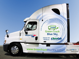 Brenntag is now operating its first EPA2010 truck with SCR.