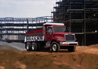 The new-look Business Class M2 106V from Freightliner.
