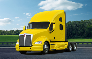 The new Kenworth T700 highway tractor.