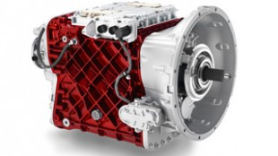 The new Mack mDRIVE automated transmission.