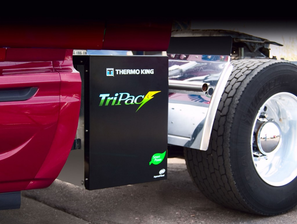 Thermo King's TriPace, it's all-new electric APU system, has been SmartWay approved along with the TriPac system.