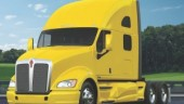 IMPROVED AERO: The Kenworth T700 boasts 3% less drag than the T660, the company claims.