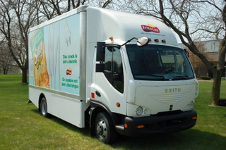 Frito Lay now has six emissions-free electric delivery vehicles in its Canadian fleet.