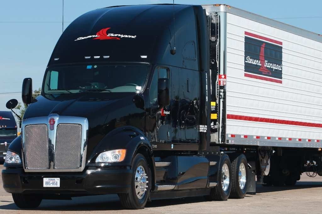 Stevens Transport has placed a large order for Kenworth's new T700 highway tractor.