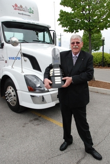 Jim Riddle was named this year's Maintenance Manager of the Year. Photo by Rachel Ongaro.
