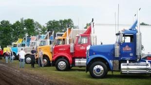 The Sleeman fleet is showcased at the Fergus Truck Show.