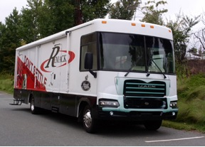This Remack mobile training centre is now on the road.