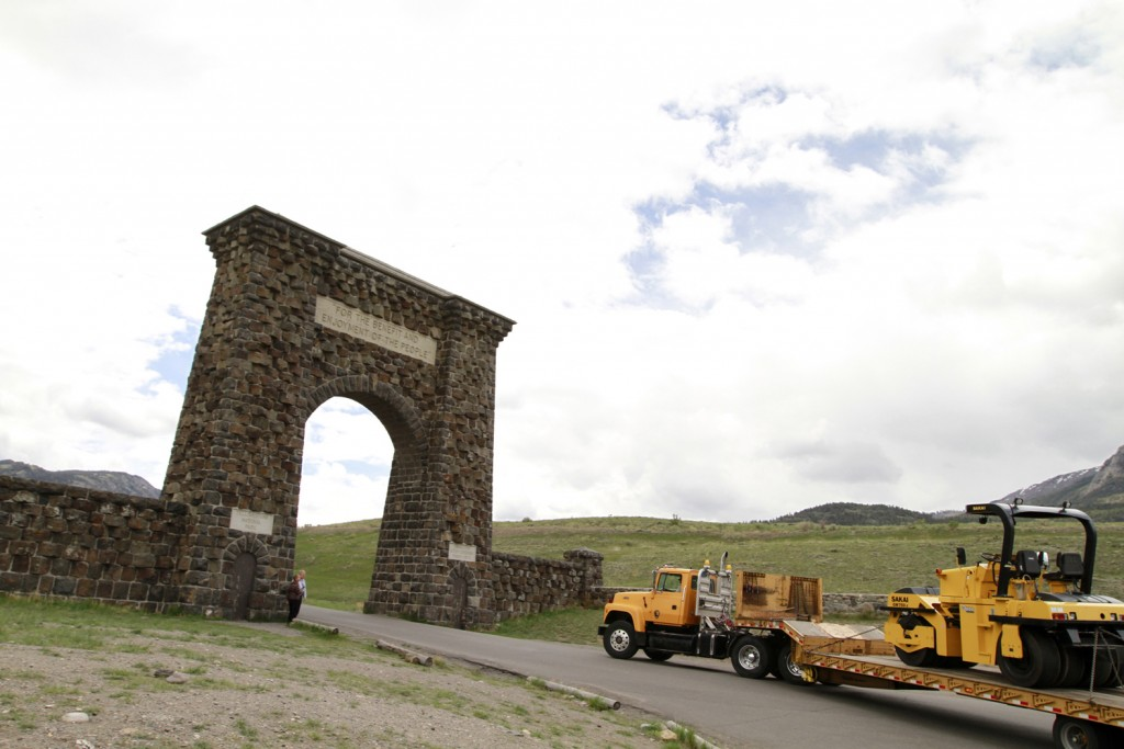 Yellowstone National Park is using energy-efficient Michelin tire on its work trucks that travel the 460 miles of road found within the park.