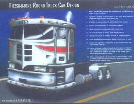 The Fitzsimmons Round Truck Cab Design.